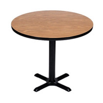 Correll BXB24R 24-in Round Bar Height Café Table