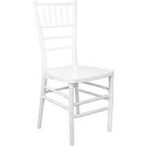 Advantage White Monoblock Resin Chiavari Chair [RSCHI-MONO-W]