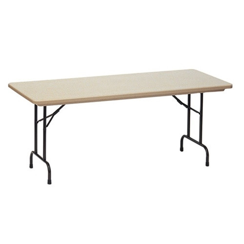 Superb Correll R3072 6 Ft Long Plastic Folding Table