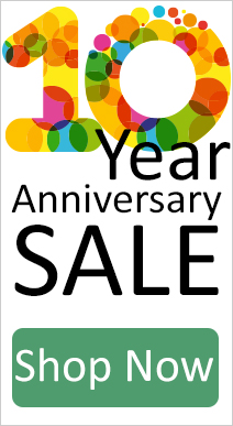 10 Year Anniversary Sale
