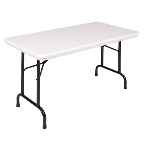 Nice Correll R2448 4 Ft Long Plastic Folding Table