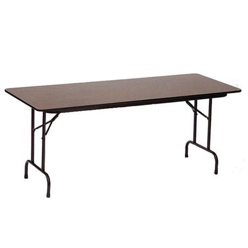 Superior Correll PC3072P 6 Ft Wood Heavy Duty Folding Table