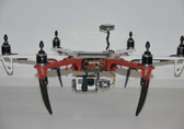 PhantoMount X2 F550 2 Axis Gimbal W/ Servos Fully Assembeld PHM-G003-A