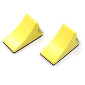 Yeah Racing 1/10 Rock Crawler Reifenstopper 2pcs Yellow Tractor Truck YA-0383