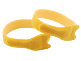 Microheli Double Sided Velcro Strap 200x12mm 2PC YELLOW