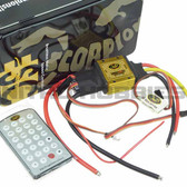 Scorpion Commander V 50V 130A ESC / Speed Control (OPTO) w/ Programming Card