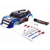 Carisma 15646 GT24R Painted and Decorates Rally Body (Blue)