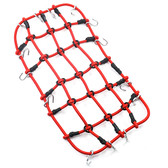 Yeah Racing YA-0560RD 1/10 RC Crawler Accessory Luggage Net 200mm x 110mm Red
