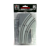 Kato 40-102 UNITRAM R180mm 45 Degree Right Curve Street Track : N Scale