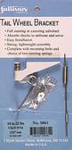 Sullivan S861 Tailwheel Bracket 60-1/4 10-22 lbs Airplanes