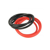 Radient Silicone Wire 12GAU 1062 Strand 2Ft Red-Black RDNA0353