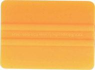 "4"" LIDCO SQUEEGEE - YELLOW-MEDIUM"