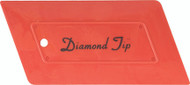 DIAMOND TIP HARD CARD - RED
