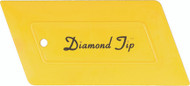 DIAMOND TIP HARD CARD - YELLOW