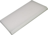 """5"""" SUPER CLEAR MAX SQUEEGEE BLADE WITH ANGLE CUT"""