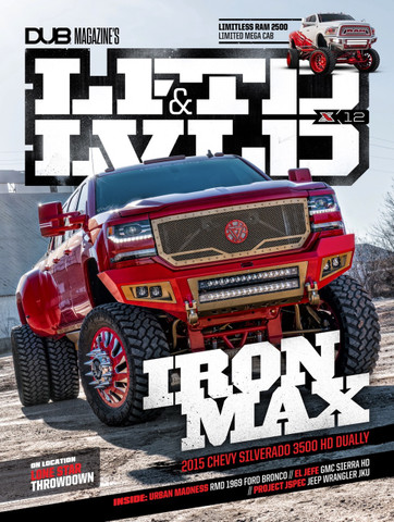 LFTDxLVLD Issue 12 : Iron Max Cover