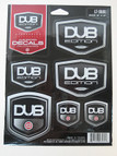 DUB Edition 6-piece decal kit