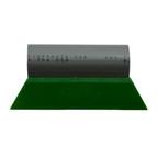 "80 DUROMETER                         5.5"" TURBO PRO GREEN W/ GRAY HANDLE"