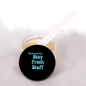 "Natural Underarm Deodorant, ""Fresh Stuff All Natural Deodorant""-4oz"