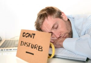 Taking a power nap at work can increase energy.