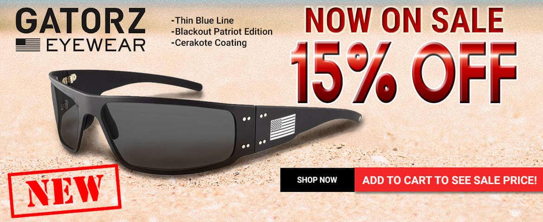Gatorz Eyewear - 15% OFF!