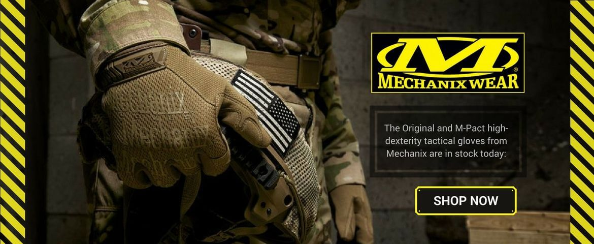 Original & M-Pact tactical gloves on sale now!