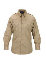 Propper Men's Long Sleeve Tactical Shirt in Khaki