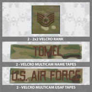 Multicam Uniform Name Tape Bundle from Kel-Lac