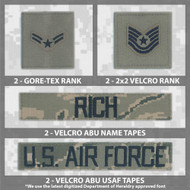 ABU Name Tape Bundle for Fleece or Parka from Kel-Lac