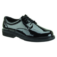 High-gloss  Thorogood Poromeric Academy Oxford shoes for dress blues uniform