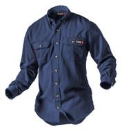 Navy TECGEN SELECT 5.5 oz Dress Uniform Shirt