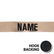 KEL-LAC® USAF NAME Tapes - Desert (w/ Hook Back)