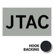 JTAC IR Duty Identifier Tab Patch with hook backing