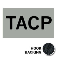 TACP IR Duty Identifier Tab Patch with hook backing