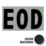 EOD IR Duty Identifier Tab Patch with hook backing