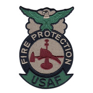 ABU Fire Protection Badge - Fire Fighter
