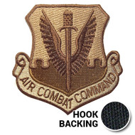 ACC (Air Combat Command) Patch in desert colors