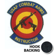 Combat Arms Morale Patch - Embroidered (w/ Hook Back)