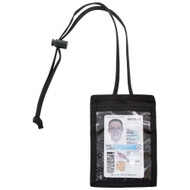 Vertical ID Holder - Black