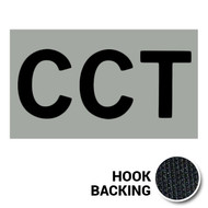 CCT IR Duty Identifier Patch with hook backing