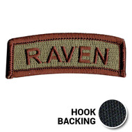 Multicam Raven tab patch from Kel-Lac