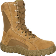 Coyote Brown Rocky S2V Tactical Military Steel Toe Boot