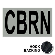 CBRN IR Duty Identifier Tab Patch with hook backing