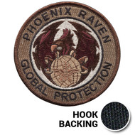 Phoenix Raven Global Protection Patch - Desert