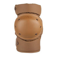 Front view of Alta Contour Knee Pads in Coyote