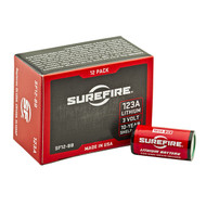 SureFire 123A Lithium Batteries (12 Pack)