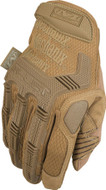 Back of Mechanix M-Pact Tactical Gloves in Coyote