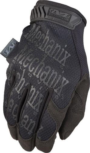 Back of Mechanix Original Tactical Gloves in Black