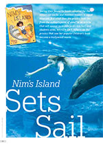 <i>Nim's Island</i> Sets Sail: A Children's Author on the Journey from Bookstore to Big Screen