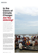 In the Claws of Climate Change: <em>Are You Listening!</em>